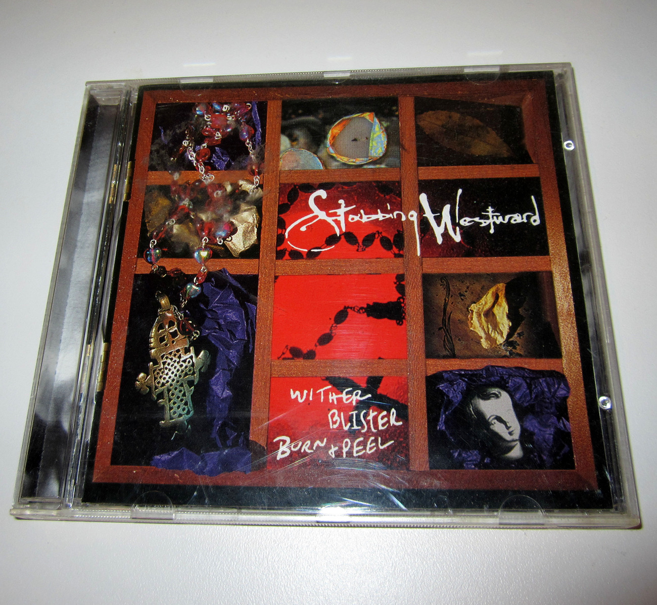 CD Wither Blister Burn & Peel by Stabbing Westward (c) 1996