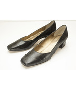 Van Eli 8.5 Narrow Black Snake Pumps Women's Shoes - $54.00
