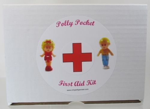 Vintage Polly Pocket First Aid Kit Restore Discolored Sets Plus Much More