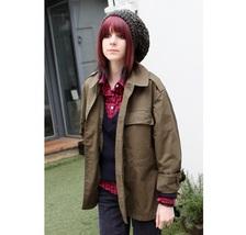 New Unissued Czech Army Women's military jacket coat khaki Communist Sov... - $17.00+