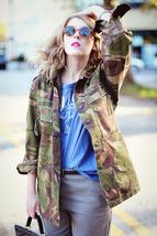 Women's Dutch Army Jacket military coat camouflage DPM Holland Netherlan... - $20.00+