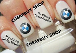 Top Quality》Bmw Ultimate Driving Machine Luxury》Nail Art Decals Tattoo《Non Toxic - $16.99