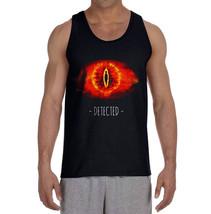 Detected by sauron LOTR Men Tank top Color BLACK - $21.00