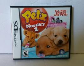 Petz Nursery 2 Video Game (Nintendo DS, 2010) - $13.09