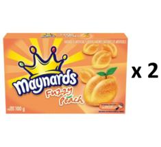 Maynards Fuzzy Peach Candy (100 g) - Pack of 2 - FROM CANADA - $20.29