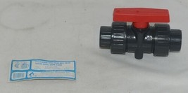 American Granby Inc ITUV 100SE PVC Blocked True Union Ball Valve image 1