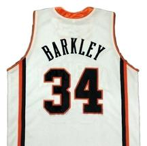 Charles Barkley College Basketball Jersey Sewn White Any Size image 5