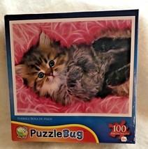 Puzzle Bug 100 Pieces Fur-Ball Cute Cat 57 - $8.90