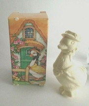 Vintage Avon Easter Spring Cottage Friends Goose in Box - New - $4.90