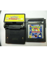 POKEMON RUMBLE  AND POKEMON TRADING CARD GAMEBOY CARTRIDGE + GAMEBOY CAR... - $76.44