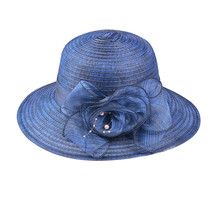 Womail Hat  1PC  Solid Cap Fashion Floppy Foldable Ladies Women Solid Straw Cap  image 4