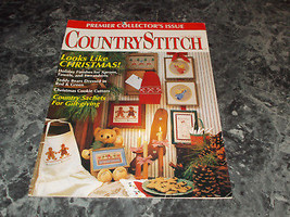 Country Stitch Magazine Premier Edition 1990 String of lights place mat - $0.99
