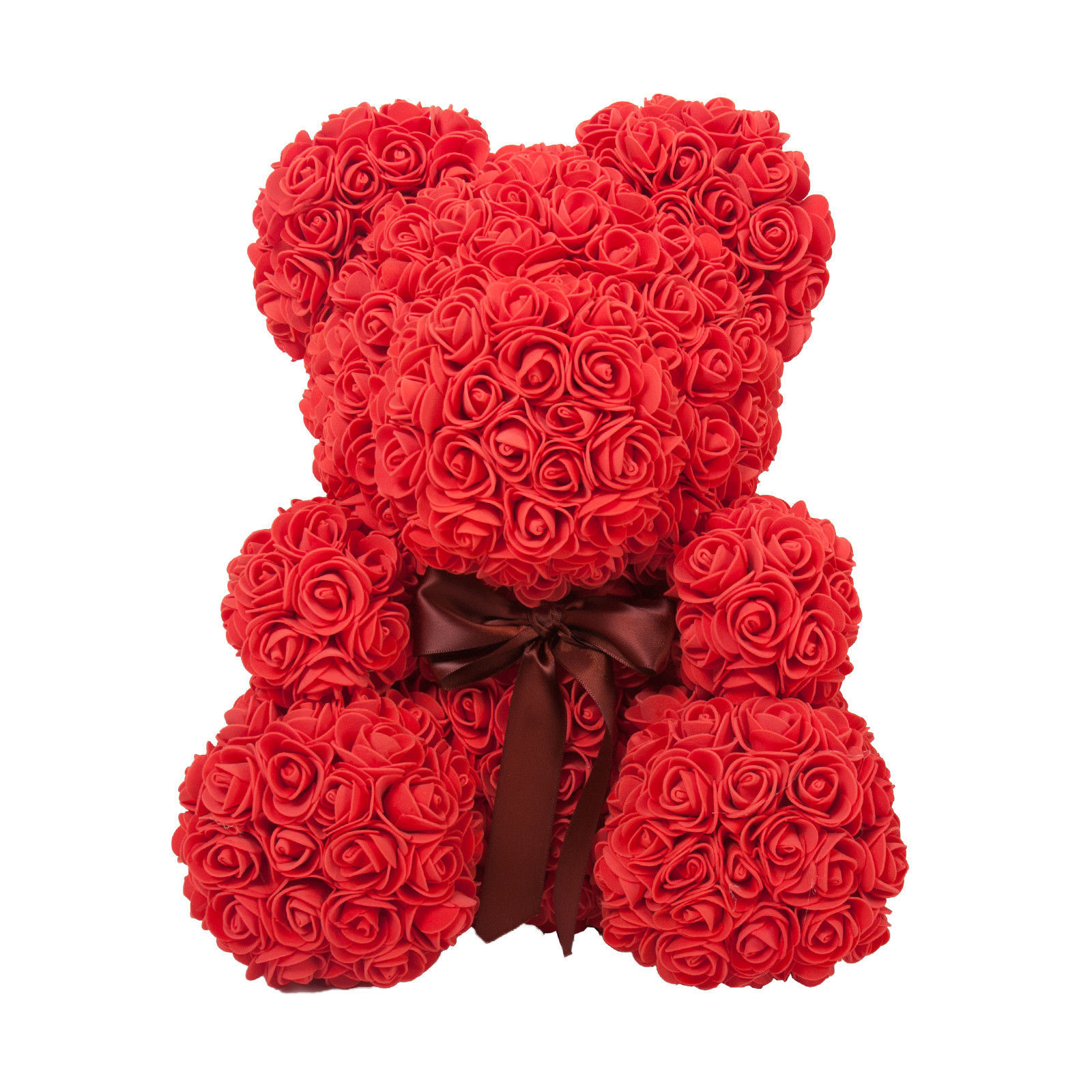 The Original Rose Bear for Birthday, Graduation, Wedding, Flower, Bear
