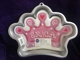 Wilton CROWN Cake Pan  King Queen Princess Birthday Party - $12.05