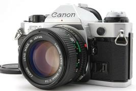 Near MINT/ Canon AE-1 Program + New Fd 50mm F1.4 From Japan #1422 - $252.10