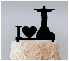Ca77 Decorations Cake topper,Cupcake topper,christ the redeemer Package : 11 pcs - $20.00