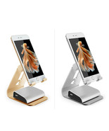 MaximalPower™ SILVER/GOLD Aluminium Desk Stand Adjustable Angles for Sma... - $12.99
