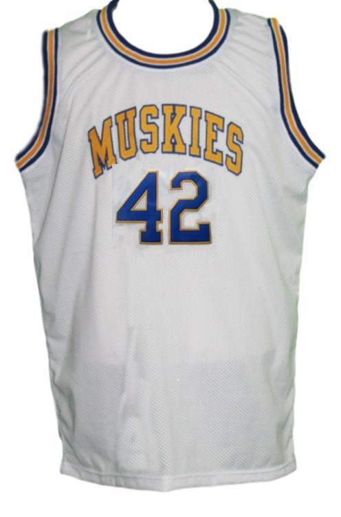Kevin Love #42 Minnesota Muskies Aba Basketball Jersey Sewn White Any Size