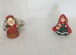 Hallmark Madame Alexander keepsake 90s Christmas Holiday ornament lot - $12.83