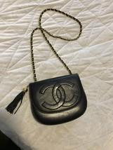 Chanel lamb skin leather cross body - $600.00