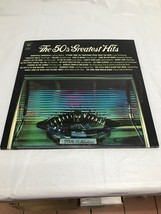 THE 50's GREATEST HITS 2 LP RECORD SET EX/VG+ G 30592 COLUMBIA - $6.88