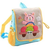 Infant Knapsack Baby Children Backpack Prevent from Getting Lost Grey