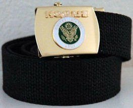 US Army Hooha ! Black Belt with Buckle - $17.81