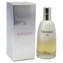 Fahrenheit 32 da Christian Dior 101ml / 100 Ml Eau De Toilette Spray per... - $280.16