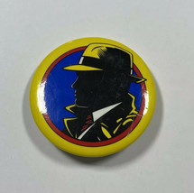 Vintage Collectible Disney Dick Tracy Yellow Button Pin Badge 1990s - $6.60
