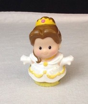 FISHER PRICE LITTLE PEOPLE Lil Kingdom CASTLE Disney Wedding Dress Belle... - $7.97