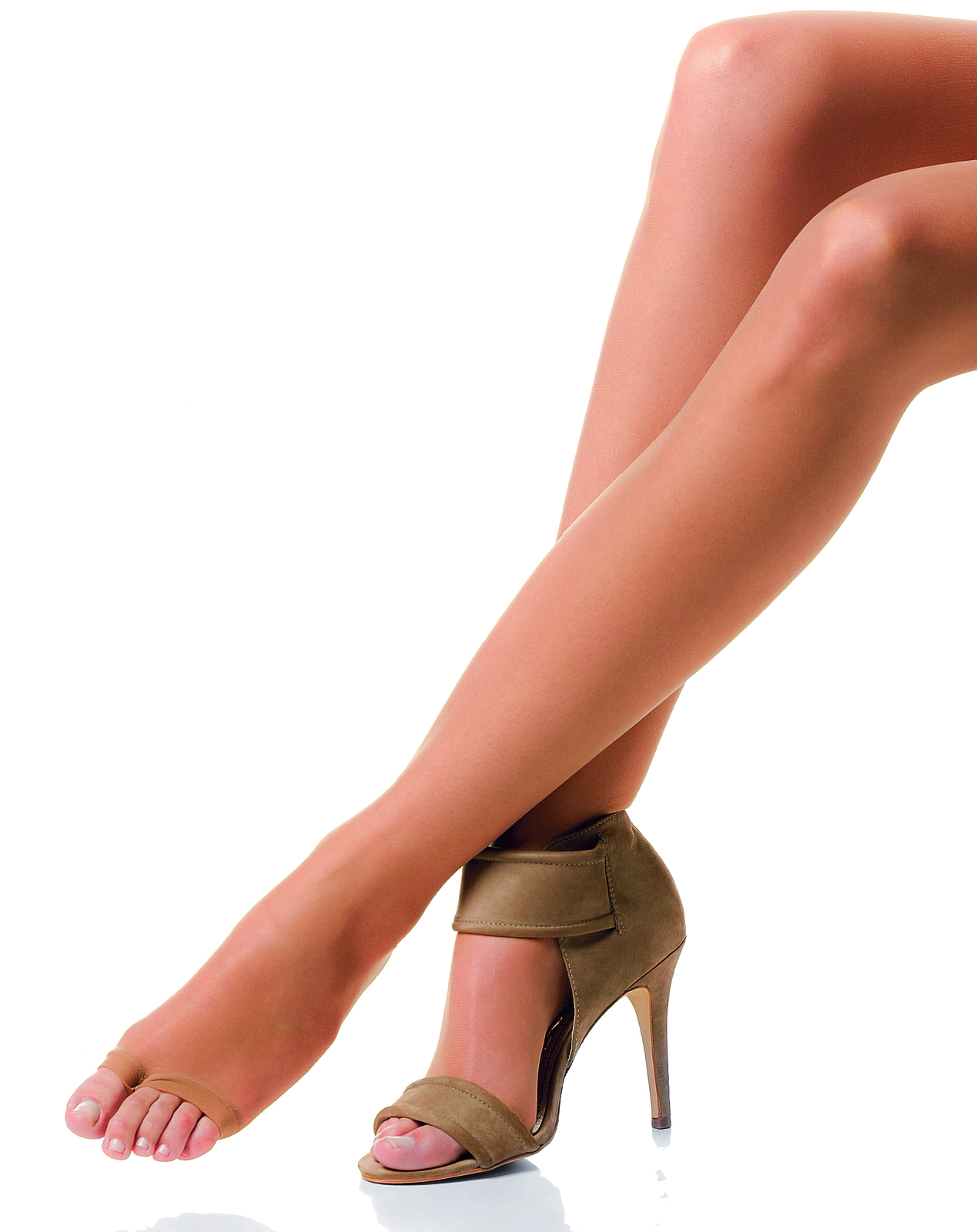 Their Toeless Pantyhose Campaign At 41