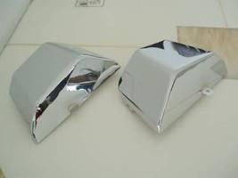 Battery Side Fairing Cover Chrome Steel Metal for Yamaha Virago XV535 XV400 - $79.89