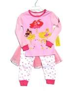 Disney Princess Ballerina Deluxe Pajamas Ruffle... - $24.99