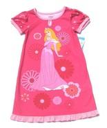 NWT Disney Store Girls Pink Princess Aurora Nig... - $14.99
