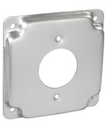 "RACO 812C 4"" Metallic Square Exposed Work Cover 1/2"" Raised 1.620"" Outle... - $2.62"