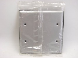 Bell 5175-0 Two Gang Gray Weatherproof Blank Cover With Gasket t36 - $8.90