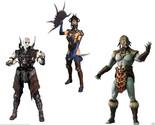 Mortal Kombat X Series 2 Quan Chi, Kotal Kahn, Kitana 6-Inch Action Figures Set
