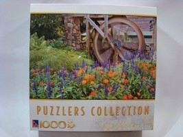 Puzzlers Collection 1000 Piece Jigsaw Puzzle: Water Wheel by Sure-Lox - $24.50
