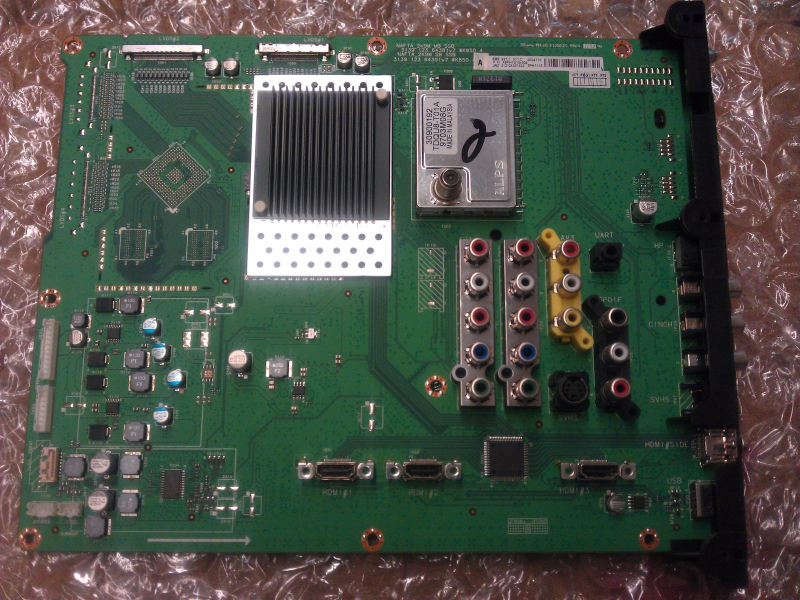312124001523 SSB Main Board From Philips 47PFL5704D/F7 LCD TV
