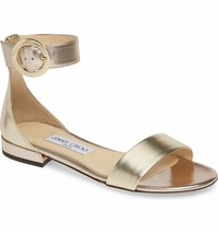 JIMMY CHOO Jaimie Ankle Strap Sandal Size 40 - $356.39