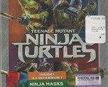 Teenage Mutant Ninja Turtles (Blu-Ray + DVD + Digtial HD) (Region Free) (2 Disc