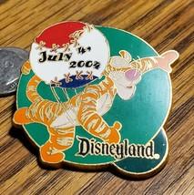 DLR Disney Pin 31019 4th of July 2004 Tigger throwing a baseball LE 1500 - $14.50