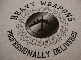 Heavy Weapons Professionally Delivered Military Plane Jet Armed Forces T... - $17.17