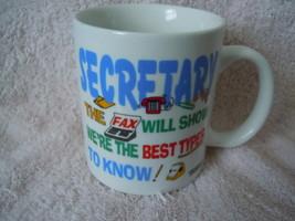 Secretary Mug  - $1.99