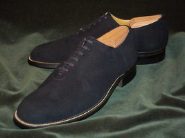 Handmade mens shoes Mens Dark gray suede leather shoes Men dress suede s... - $159.99