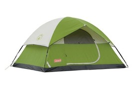 Outdoor Camping Tent 4 Person Sundome Camper Hunting Shelter Sleeper Lar... - $89.97