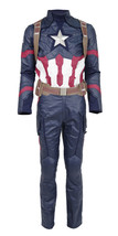 Captain America Cosplay Costume Battle Suit Steve Rogers Men's Cosplay F... - $229.99