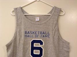 Mens Champions Graphic Gray Sleeveless Basketball #6 T-Shirt Tank Top Size XL image 5