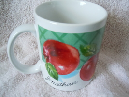Jonathan Apple Mug  Papel New - $1.99