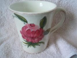 Peony Large Mug Italy New - $2.99